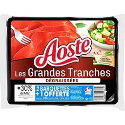 Les Grandes Tranches - Jambon cru tranches dégraissé...