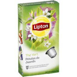 Capsules de thé vert pétales de Jasmin