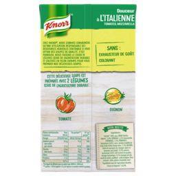 Soupe Douceur à l'italienne tomates mozzarella