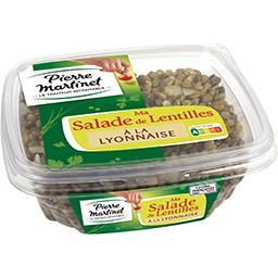 Ma Salade de lentilles à la lyonnaise