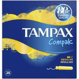 Tampax Compak - Tampons applicateur Régulier