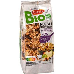 Muesli croustillant aux fruits BIO
