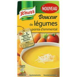 Soupe Douceur de Légumes pointe d'emmental