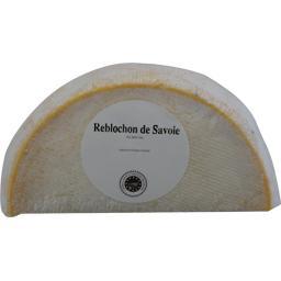 Reblochon ,fromage au lait cru de vache