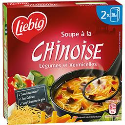 Soupe à la Chinoise légumes et vermicelles