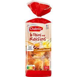 Pains aux raisins à la crème pâtissière