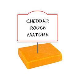 Cheddar rouge mature, 32% de MG