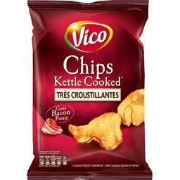 Chips Kettle Cooked goût bacon fumé