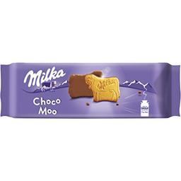 Biscuits Choco Moo nappés chocolat au lait