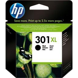 Hewlett Packard Cartouche d'encre noire 301 XL