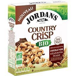 Country Crisp - Céréales complètes chocolat noir et ...