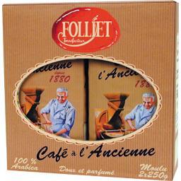 Caffés Folliet Folliet Café moulu 100% arabica à l'ancienne