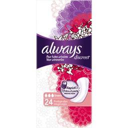 Protège-slips discreet pour fuites urinaires et incontinence