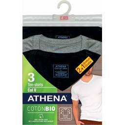 Tee-shirts col V coton BIO taille 2