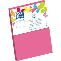 Enveloppe 114x162 120 g rose auto adhésive