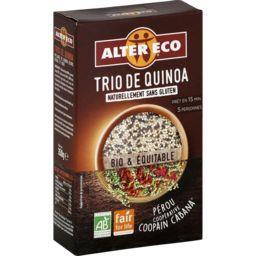 Salade de quinoa bio blond/rouge/noir Alter Eco