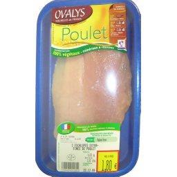 Escalopes poulet extra fines x2