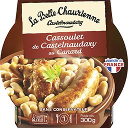 Authentique cassoulet au canard de Castelnaudary