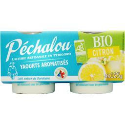 Yaourt au lait BIO aromatisé citron