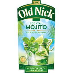 Cocktail Mojito au rhum blanc