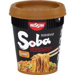 Nouilles Soba avec sauce japonaise Yakisoba curry