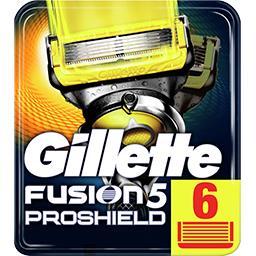 Fusion5 proshield lames de rasoir pour homme 6recha...