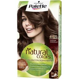 Palette - Coloration Natural Colors 4.65 châtain cho...