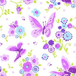 Serviettes 3 plis 33x33 cm Beautiful Butterfly