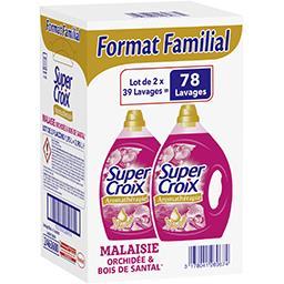 Super Croix Aromathérapie - Lessive liquide Malaisie orchidée & ...