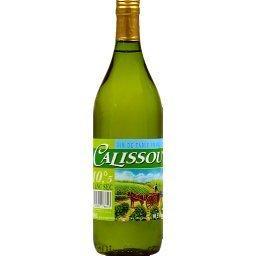 Vin blanc sec de table d'Espagne