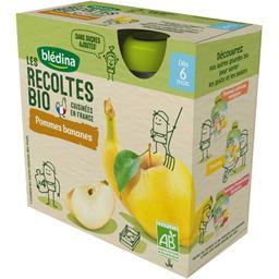 Les Récoltes BIO - Pommes bananes BIO, dès 6 mois
