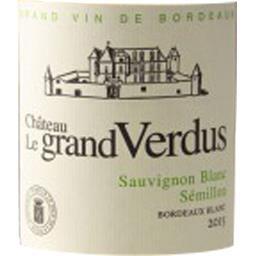 Bordeaux Château Le Grand Verdus vin Blanc sec 2017
