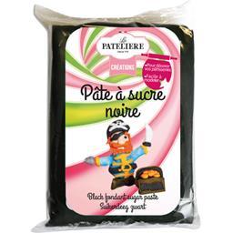 LA PATELIERE Pâte à Sucre Noire sans Huile de Palme 250 g
