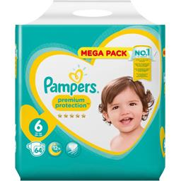Pampers Premium protection - taille 6 13+ kg - couches