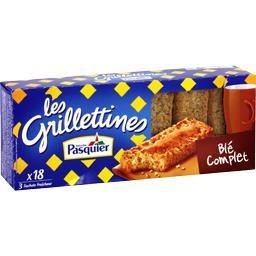 Les Grilletines - Tartines grillées briochées