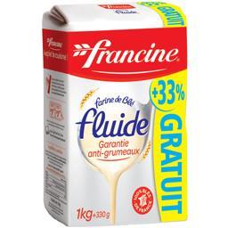 Francine Farine fluide garantie anti-grumeaux