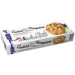 Cookies BIO nougatine pépites chocolat