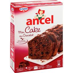 Mon cake au chocolat