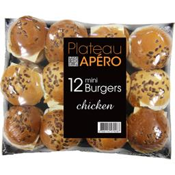 Plateau Apéro mini Burgers Chicken