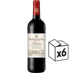 Héritiers du Roy Bergerac Héritiers du Roy vin Rouge 2017 le carton de 6*75 cl