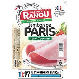 Jambon Mon Paris découenné dégraissé