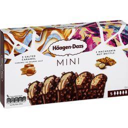Mini bâtonnets glace caramel beurre salé/noix de mac...