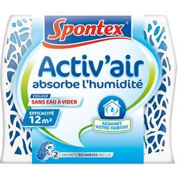 Absorbeur d'humidité rechargeable, propre et pratique