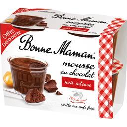 Mousse chocolat noir intense