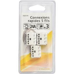 Connexions rapides 5 fils 450V-50Hz 24A