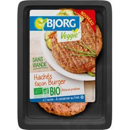 Veggie - Hachés sans viande façon Burger BIO