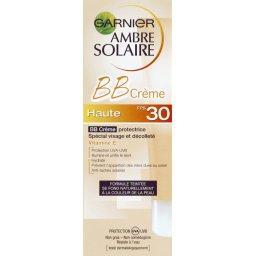 BB Crème protectrice spécial visage et décolleté FPS30