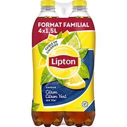 Lipton Boisson Ice Tea saveur citron citron vert