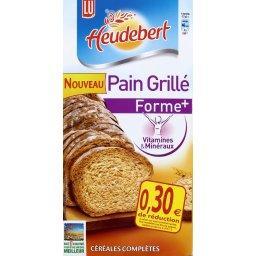 Heudebert - Pain grillé Forme +, céréales complètes