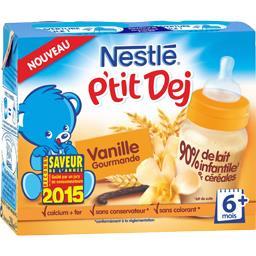 P'tit Dej - Céréale lactée vanille gourmande, 6+ mois
